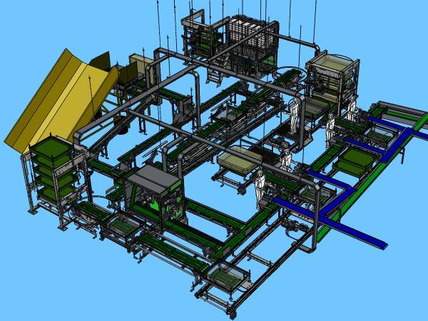 Cao 3D détaillée avec la totalité des composants
