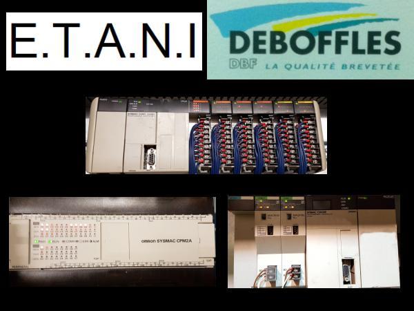 Dépannage, modifications et support sur les automatismes Etani et Deboffles